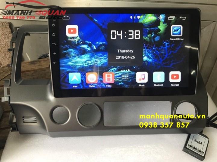 Màn Hình Android Cắm Giắc Zin Cho Xe Ô Tô Honda Accord | 0965789779