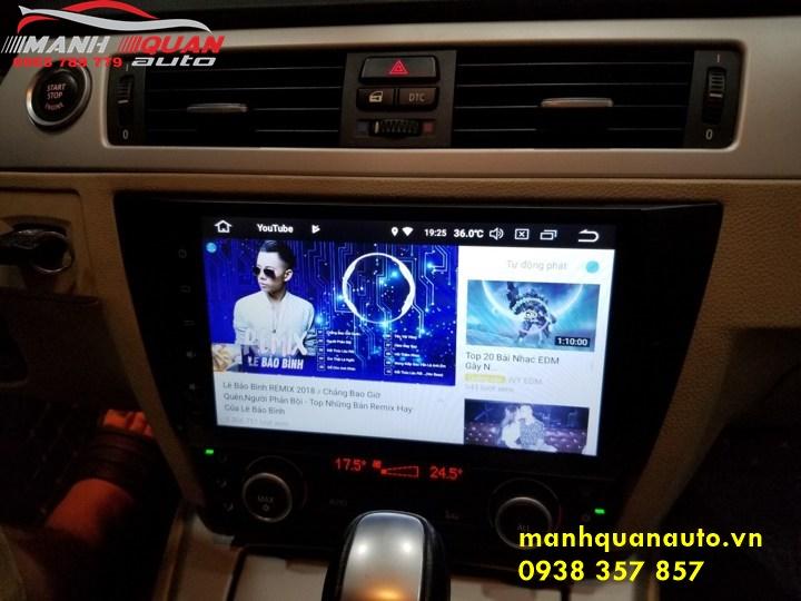 Màn Hình Android Cao Cấp Công Nghệ Cao Cho Xe BMW 320i
