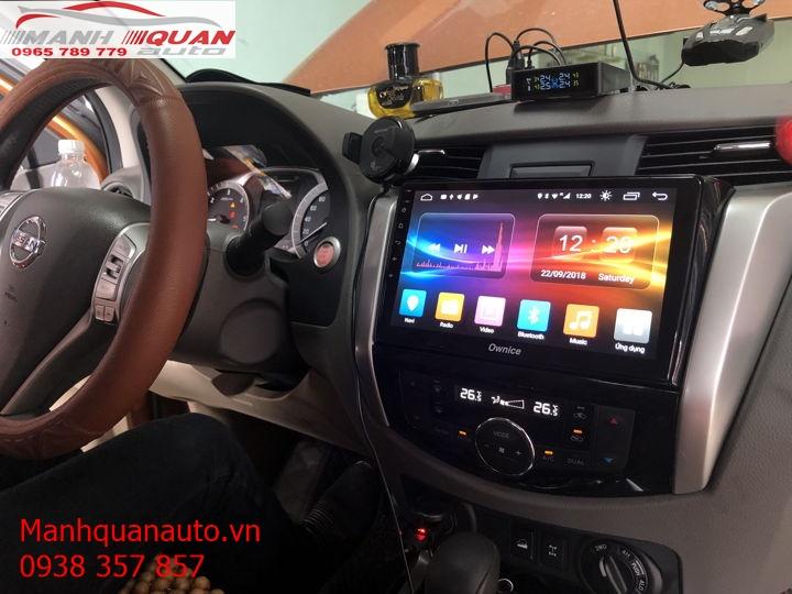 Màn Hình Android Chính Hãng Giá Rẻ Cho Nissan Navara 2018   0965789779