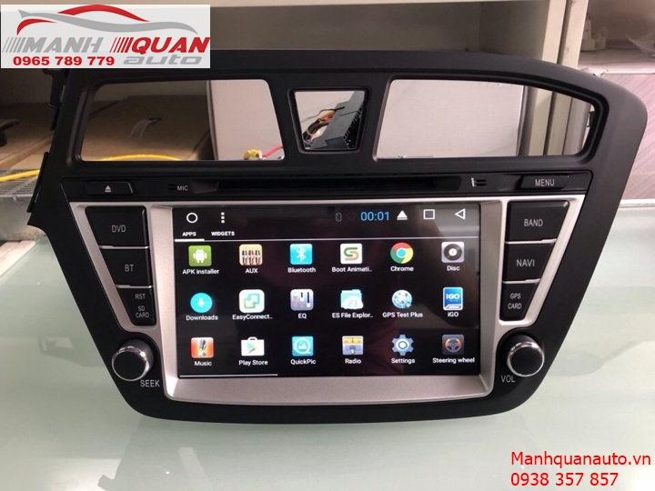 Màn Hình Android Chính Hãng Giá Rẻ Cho Xe Hyundai i20 Active | 0965789779