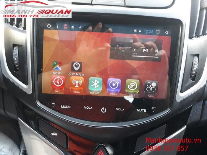 Màn Hình Android Giá Rẻ Cho Chevrolet Cruze Số Tự Động 2018   0965789779