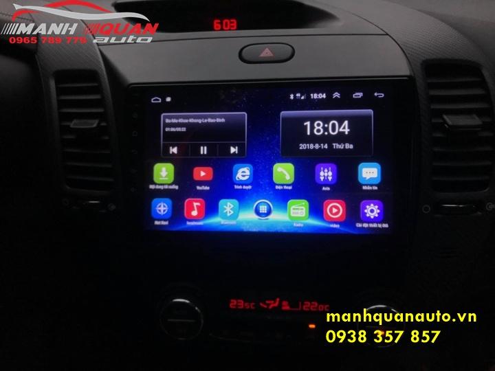 Màn Hình Android Mới Nhất Cho Kia Cerato   0965789779