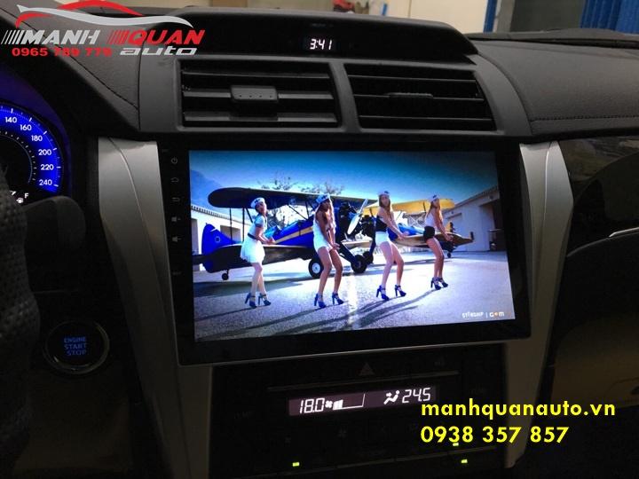 Màn Hình Android Mới Nhất Cho Toyota Camry Cắm Jack Zin | 0938357857