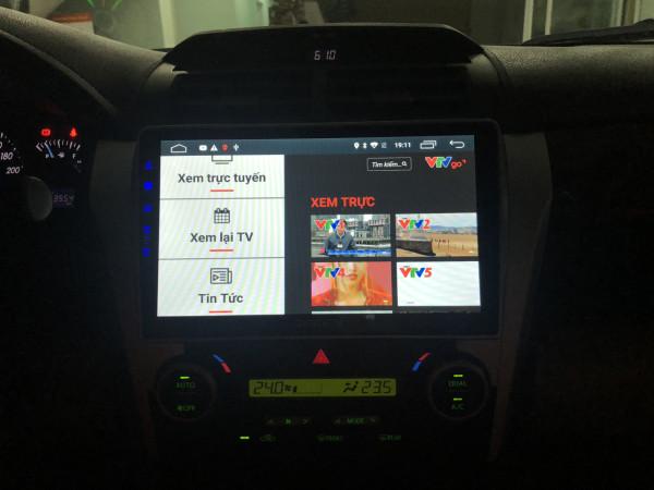 Màn Hình Android Zestech - Công Nghệ Nhật Cắm Sim 4G Dành Cho Xe Camry 2013