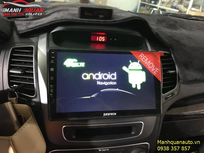 Màn Hình Android Zestech Cao Cấp, Uy Tín, Giá Ưu Đãi - Kia Sorento