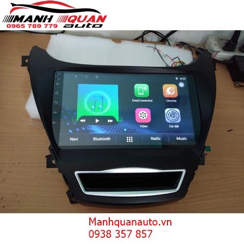 Màn Hình DVD Android 10 inch Cao Cấp Cắm Jack Zin Cho Elantra   0965789779