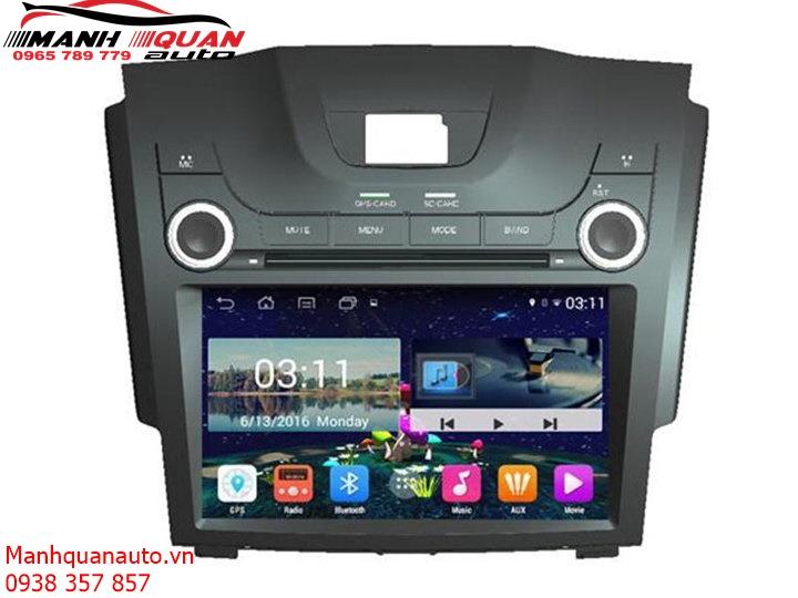 Màn Hình DVD Android Cao Cấp Theo Xe Chevrolet Colorado   0965789779