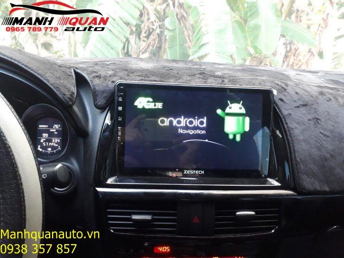 Màn Hình DVD Android Nhập Khẩu Cao Cấp - DVD Zestech Cho Mazda Cx5