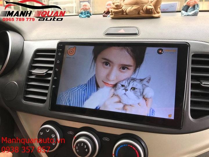 Màn Hình DVD Android Theo Xe Kia Morning Giá Rẻ - Mạnh Quân Auto