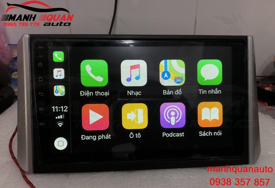 Màn Hình DVD Android Tích Hợp Amli DSP Và Công Nghệ Mới Carplay Cho Mitsubishi Xpander