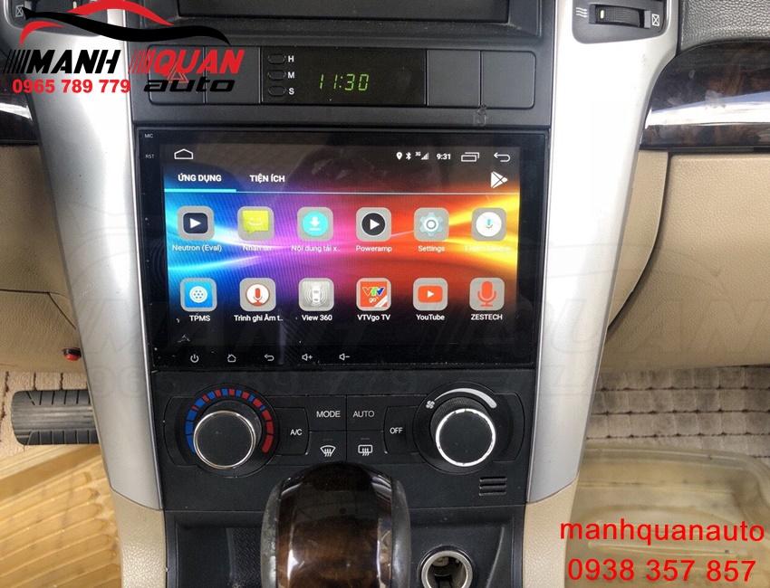 Màn Hình DVD Android Zestech Cho Chevrolet Captiva- Công Nghệ Nhật Bản