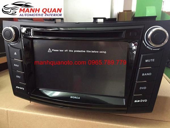 Màn Hình DVD Worca S90 Cho Nissan Juke