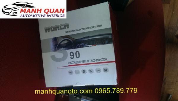 Màn Hình DVD Worca S90 Cho Subaru Outback