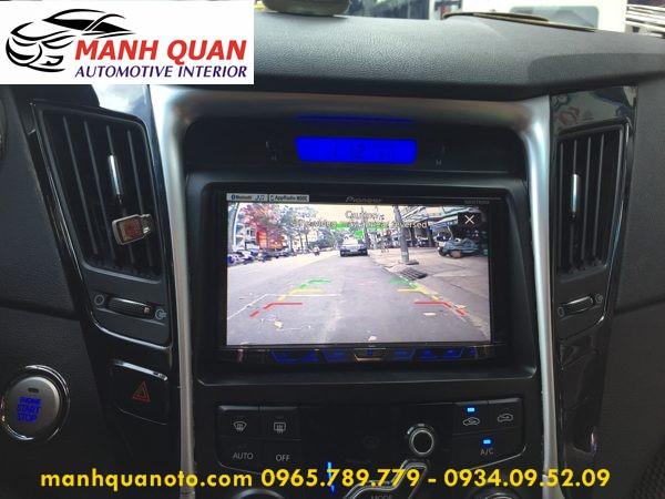 Màn Hình DVD Zin Theo Xe Hyundai Sonata   DVD Pioneer 8850BT Cao Cấp