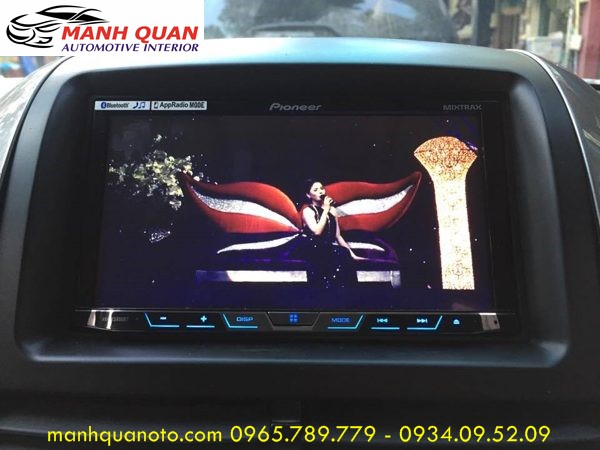 Màn Hình DVD Zin Theo Xe Toyota Hilux   DVD Pioneer 8850BT Cao Cấp