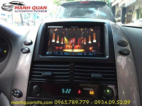 Màn Hình DVD Zin Theo Xe Toyota Sienna   DVD Pioneer 8850BT Cao Cấp