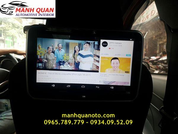 Màn Hình Gối Đầu Android Cho Toyota Highlander