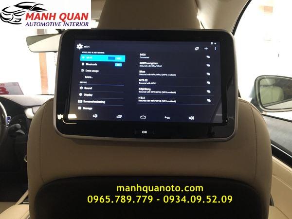 Màn Hình Gối Đầu Android Cho Toyota Land Cruiser