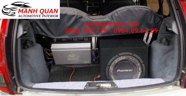 Nâng Cấp Âm Thanh Cho Ford Fiesta Chuyên Nghiệp