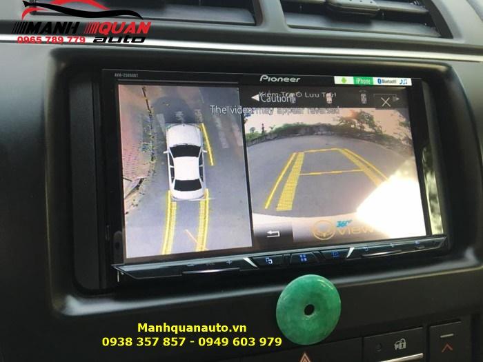 Nên Lắp Camera 360 Độ Oview Cho Toyota Camry Ở Đâu Tp HCM