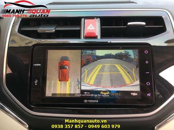 Thiết Bị Hỗ Trợ Lái Xe An Toàn Camera 360 Owin - Toyota Rush
